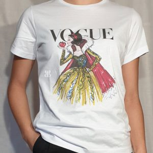 camiseta vogue disney princesas tendencias de moda